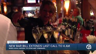 Bill would allow bars to stay open until 4 a.m. in Michigan