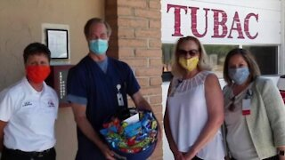 Tubac first responders join COVID-19 vaccine trial in Tucson