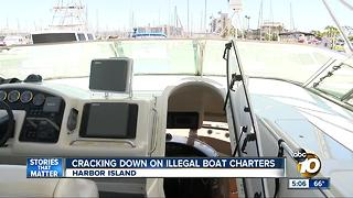 Coast Guard cracks down on illegal boat rentals