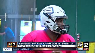Brigade looking for another upset in franchise's first playoff game - Video