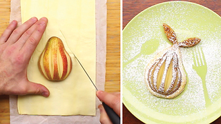 Pears in puff pastry recipe - Video