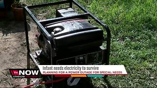 Planning for a power outage for someone with special needs