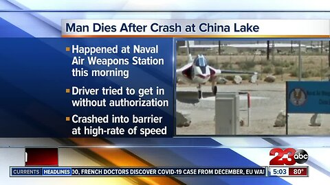 China Lake deadly crash