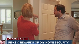 Angie's List: Risks & rewards of DIY home security systems - Video