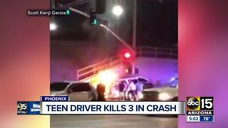 Good samaritans rush in to save people trapped in Phoenix crash - Video