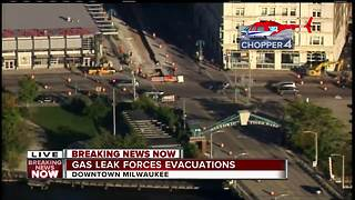Milwaukee Public Market re-opens after evacuation due to gas leak - Video