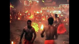 Indian Fire Festival - Video