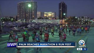 Palm Beaches Marathon held Sunday - Video