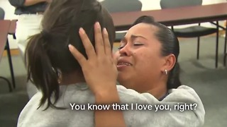 Mother, daughter reunited after 55 days - Video