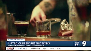 Local business owner reacts to lifted curfew restrictions