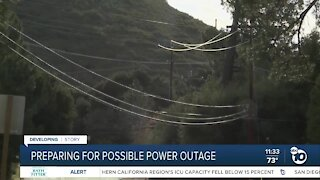 Many residents prepare for potential power outage