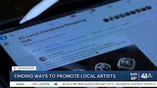 Finding ways to promote local artists