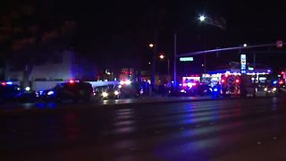 Two taken into custody after pursuit ends in Las Vegas