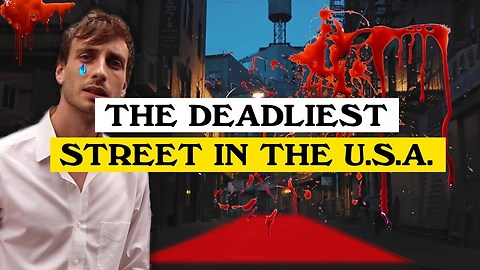 The Deadliest Street in America. Doyers Street Chinatown