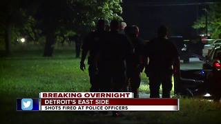 Detroit police officers ambushed by gunmen Wednesday night