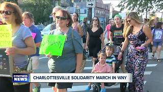 WNY Rally in Solidarity with Charlottesville - Video