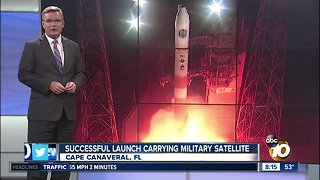 Successful launch carrying military satellite