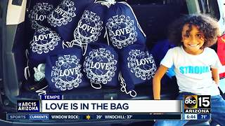 Valley family filling tote bags of love for those in need - Video