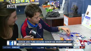 Edison and Ford Winter Estates celebrate National Kid Inventors' Day - 8:30am live report - Video