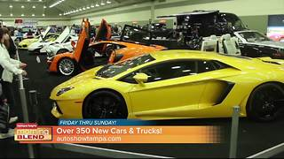 Tampa Bay New Car and Truck Show - Video