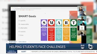 Helping students face distance learning challenges