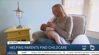 Local organization helping parents find childcare
