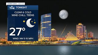 Clear and cold night ahead Tuesday