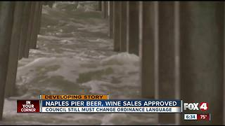 City council approves permit for beer and wine sales on Naples Pier - Video