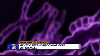 Genetic testing becoming more affordable