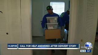 Denver7 calls in reinforcements to help with Longmont woman's moldy apartment
