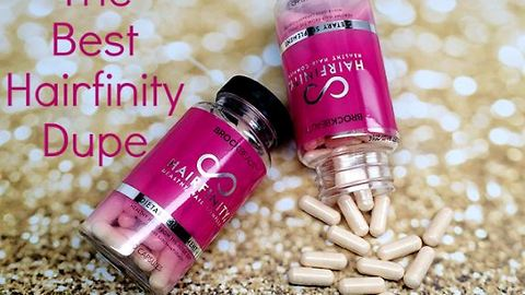 The Best Hairfinity Dupe - Just $12