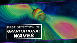 LIGO's First Detection of Gravitational Waves! - Video