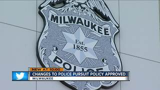Fire and Police Commission adopts new MPD chase policy - Video