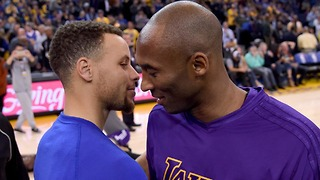 Steph Curry Asks Kobe Bryant for Help Getting Through Injury - Video