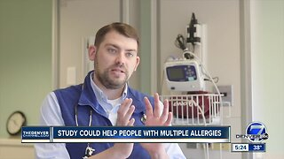 What's Going Around - Study to Help People with Food Allergies