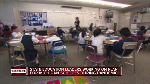 Governor Whitmer says she will announce plan for Michigan schools on Thursday