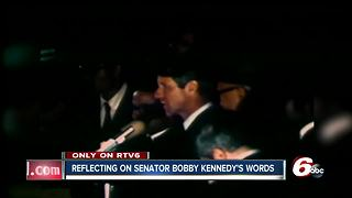 50 years later, Hoosiers remember Robert Kennedy speech in Indy - Video