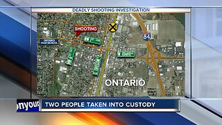 Two people facing murder charges in Ontario shooting