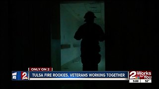 Tulsa Fire rookies, veterans working together