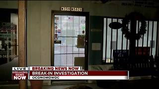 Thieves break into Oconomowoc gun shop - Video