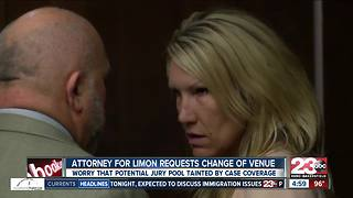 Attorney for Sabrina Limon files change of venue motion - Video
