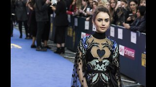 Lily Collins: I can't believe I'm engaged!