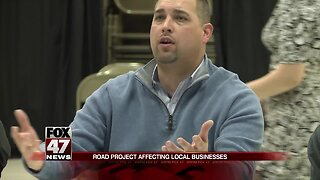 Road project affecting local businesses