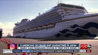 Coronavirus: 11 Americans on cruise ship quarantined in Japan