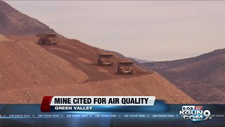 County: Mining company broke law with blowing dust