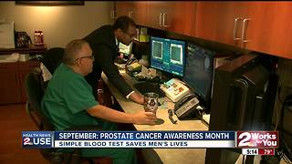 Health News 2 Use: Prostate cancer awareness month - Video