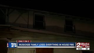 Red Cross helping Muskogee family after fire - Video