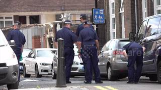 Police investigate after 15-year-old boy stabbed - Video