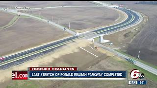 Ronald Reagan Parkway opens in Hendricks County - Video