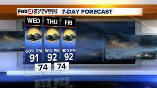 Typical Late June Weather Continues 6-27 - Video